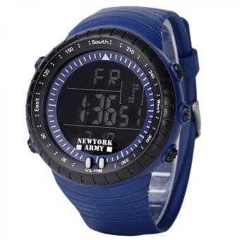 Harga Newyork Army Digital Cardinal Men's Watch NYA1302 - Blue