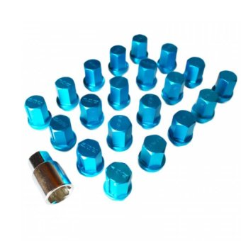 Rays Dura Lug Nuts 1.25 (Blue) Price Philippines