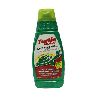 Harga NFSC - TURTLE WAX PERFORMANCE PLUS SUPER HARD SHELL WAX LIQUID 16 FL. OZ.