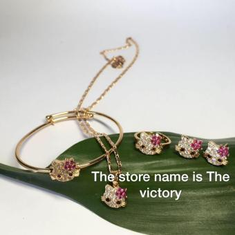 Harga Fashion plated rose gold jewelry