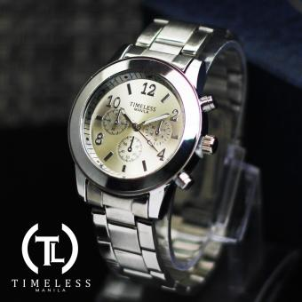 Timeless Manila Caitlyn Chrono Metal Watch (Silver) Price Philippines