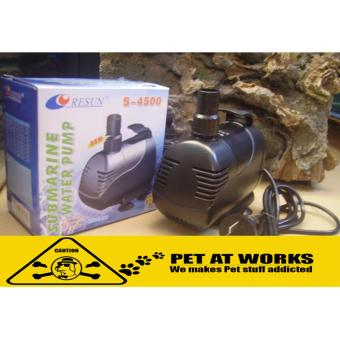 Harga Resun Submarine Water Pump 110W (S4500) For Fish Pond, Fish Tank Aquarium, Salt Water Tank, Marine Tank, Planted Tank