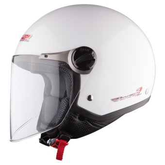 Harga LS2 Open Face OF560 Rocket 2 Helmet (White)
