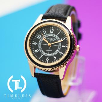 Timeless Manila Lucy Leather Watch (Black) Price Philippines