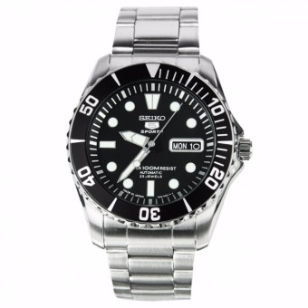 Harga Seiko 5 Sports Automatic Diving Watch SNZF17J1 - intl