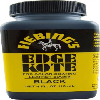 Harga Fiebing's Black Edge Kote 4 Oz. - Color Coats Leather Edges