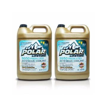 Harga Polar 50/50 Lifetime Ready to Use Coolant-Antifreeze 1gal (3.785L) PN 075 (Pack of 2 bottles)