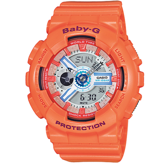 Casio Baby-G BA-110SN-4A Orange Price Philippines