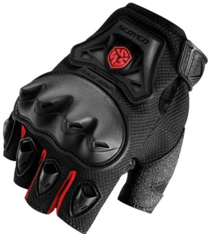 Scoyco® MC-Series MC29D Motorcycle Gloves w/ Knuckle Touring & Racing (Red) (L) Price Philippines