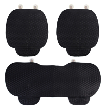 Harga Allwin 3 Pcs/Set Car Seat Cushion Four Seasons Pad General Commercial Seat Covers - Intl