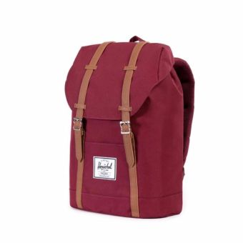 Herschel Supply Co. Retreat Backpack (Wine/Tan) Price Philippines