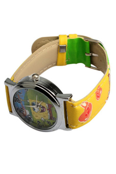 Kid's Yellow Leather Strap Watch Spongebob with Purse for Kids Price Philippines