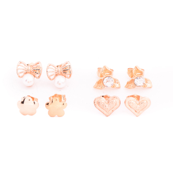Harga Piedras Paug15 Earrings (Gold)