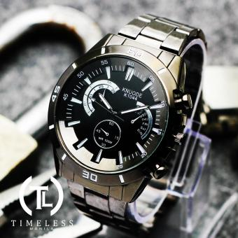 Timeless Manila Ashton K1044 Chrono Steel Watch (Black) Price Philippines
