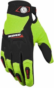 "Scoyco® MX-Series MX-57 Motorcycle Gloves ""Lycra"" Material Motocross MX Racing (Black) (M) Price Philippines"