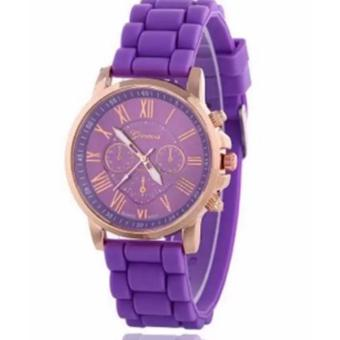 New Geneva Roman Numerals Candy Watch (Violet) Price Philippines