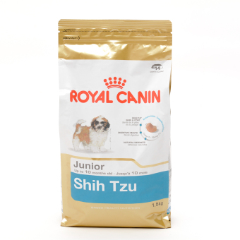 Harga Royal Canin Breed Health Nutrition Shih Tzu Junior Dry Dog Food 1.5kg