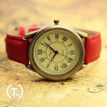 Timeless Manila Debra Roman Numeral Classic Leather (Red) Price Philippines