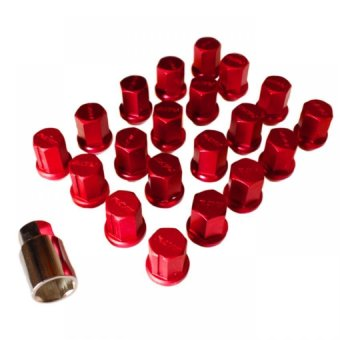 Rays Dura Lug Nuts 1.5 (Red) Price Philippines