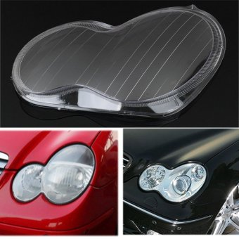 1pc Headlight Lens Plastic Shell Cover Fit For Mercedes Benz 01-07 W203 C-Class - intl Price Philippines
