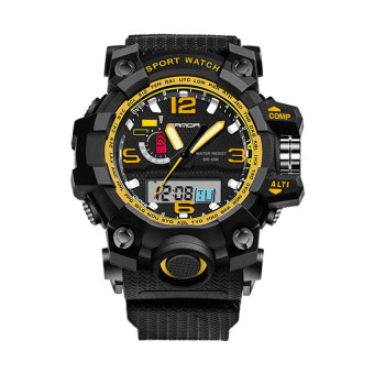 SANDA 732 Multifunctional Outdoor Sports Waterproof Shockproof Electronic Watch(gold) Price Philippines