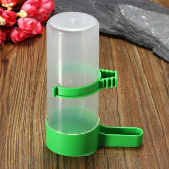 2/4x 140ML Bird Pet Drinker Feeder Waterer Clip for Aviary Cage Budgie Lovebirds - intl Price Philippines