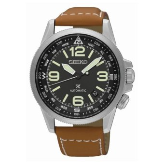 Harga Seiko Prospex Automatic Leather Watch SRPA75K1