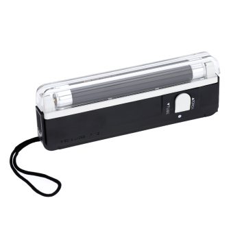 Harga Portable Handheld UV Light Torch Lamp Counterfeit Banknote Paper Currency Money Detector - Intl
