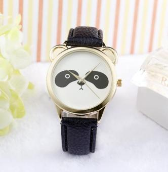 Panda Black Leather Watch Price Philippines