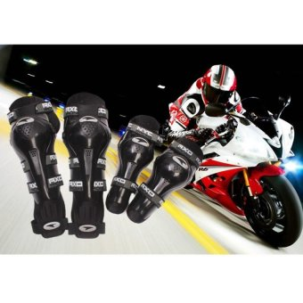 Axo Motorcycle Racing Riding Knee & Elbow Guard Pads protector Gear Black Price Philippines