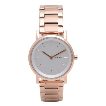 DKNY Soho Women Rose Gold Stainless Strap Watch NY2344 Price Philippines