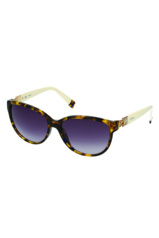 Furla Frida SU4856S 0744 Sunglasses (Brown Tortoise/Cream) Price Philippines