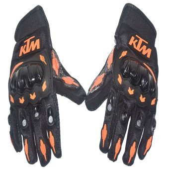 Harga KTM Motorcycle Gloves Medium (Black)