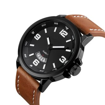 2016 High Quality TTLIFE Luxury Brand Men's Business Genuine Leather Band Quartz Watch(brown) Price Philippines