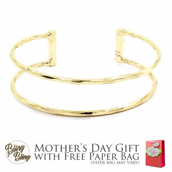 Bling Bling Patrice Gold Bracelet Bangle with Free Paper Bag Price Philippines