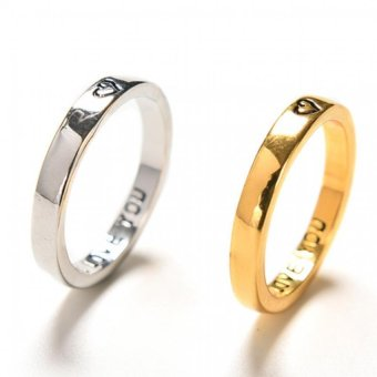 Amango Heart Couple Rings His and Her Promise Wedding Gifts Forever Love 2Pcs Price Philippines