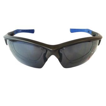 Fury S-CLEVE Active Sunglasses with Rx Prescription Clip-on (Smoke Grey Lens) Price Philippines