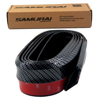 Harga Samurai Lip Skirt Rubber Lip (Carbon)