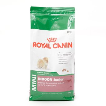 Harga Royal Canin Mini Indoor Jr. Dry Dog Food 1.5kg