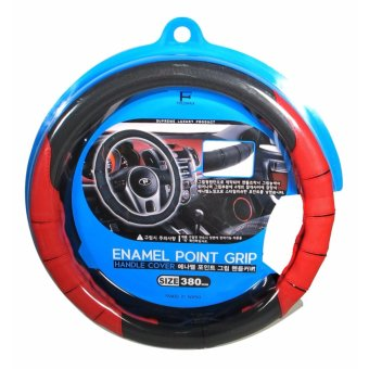 Freemax Steering Wheel Cover Red/Black Price Philippines