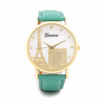 Harga Geneva Paris Eiffel Tower Dial Leather Watch