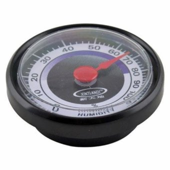 Harga BUYINCOINS New Accurate Durable Portable Mini Power-Free Indoor Outdoor Humidity Hygrometer - intl