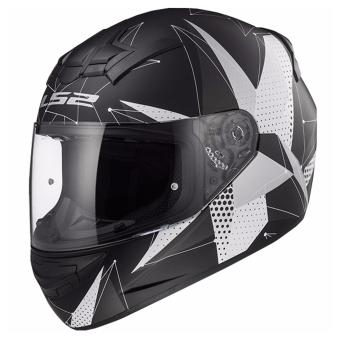 Harga LS2 Full Face FF352 Brilliant Helmet (Matt Black Titanium)