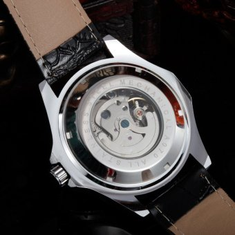 Harga JARAGAR silver core fully automatic mechanical watches Fashion watch white