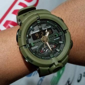 Harga D-ZINER DZ-8174 Sporty Watch (LIGHT GREEN)