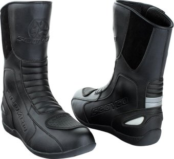 Scoyco® MBT-Series MBT-008 Motorcycle International Boots Touring & Racing (Black) (Size 39) Price Philippines