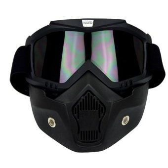 SEC 00797 Detachable Uni Mask with Goggles (Black) Price Philippines
