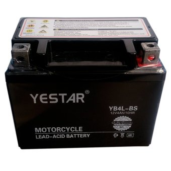 Harga YESTAR YB4L-BS Super MF Motorcycle Battery