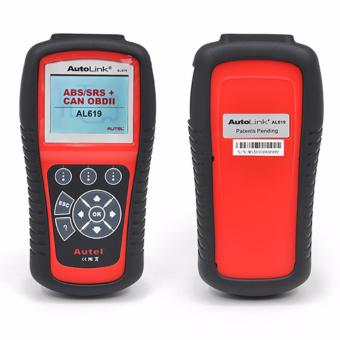 Autel Autolink AL619 ABS/SRS + CAN OBDII Diagnostic Scan Tool - intl Price Philippines