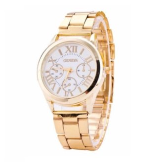 Geneva Gold/White Roman Numerals Wrist Watch Price Philippines